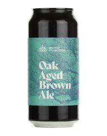 Oak Aged Brown Ale, Browar Stu Mostów