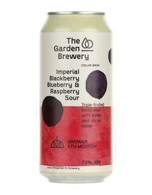 Imperail Blackberry, Blueberry & Raspberry Sour, The Garden Brewery